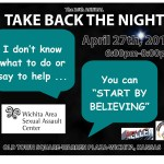 WASAC Take Back the Night 2012